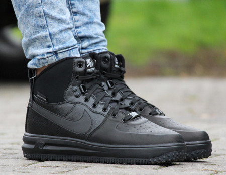 ... NIKE LUNAR FORCE 1 SNEAKERBOOT (706803-002) ... 156c69f1b2