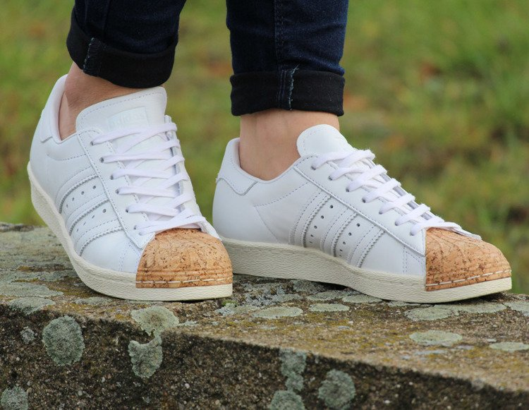 finest selection cd0f4 ed1a6 ... ADIDAS SUPERSTAR 80S CORK W (BA7605) ...