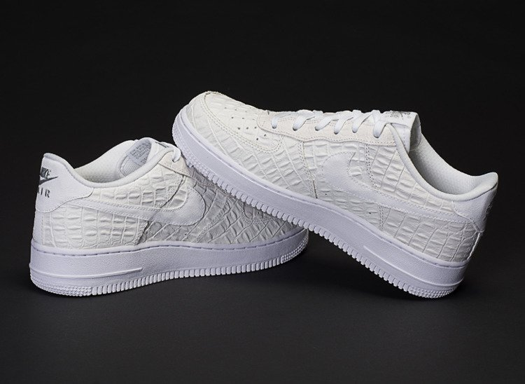 new style 04288 12161 ... NIKE AIR FORCE 1 LOW LV8 CROC PACK (749144-103) ...