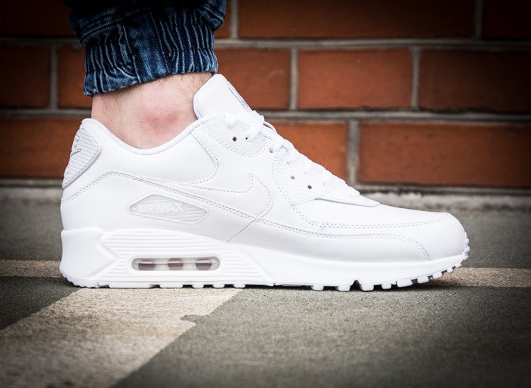 best cheap e60c9 20c43 purchase buty nike air max 90 leder alle weiß 4d891 2f8e2